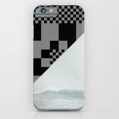 waves/grid #9 iPhone 6s Slim Case