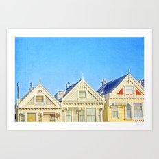 SF Tops Alamo Art Print