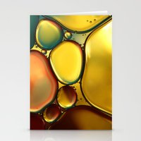 Oil & Water Abstract II Stationery Cards
