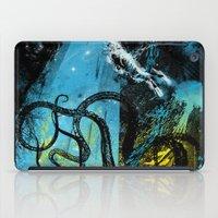 diving danger iPad Case