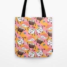Sushi dance Tote Bag