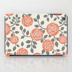Retro roses iPad Case