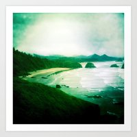 Wet and Rusting Art Print