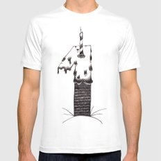 uno White SMALL Mens Fitted Tee