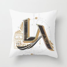 Made in LA Throw Pillow