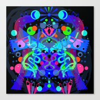 god of Ooor Canvas Print