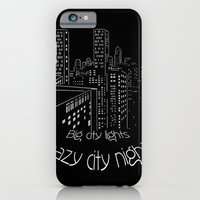 City nights, city lights iPhone 6 Slim Case