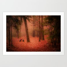 A Childhood Memory Art Print
