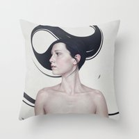 347 Throw Pillow