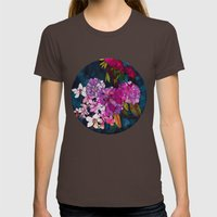 Purple Globes Of Rhodode… Womens Fitted Tee Brown SMALL