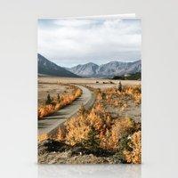 Fall Yukon Valley Stationery Cards
