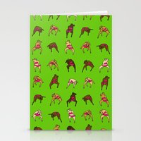 Cow Dancers 2 Stationery Cards