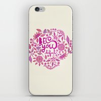 Be You-Tiful (pink edition) iPhone & iPod Skin
