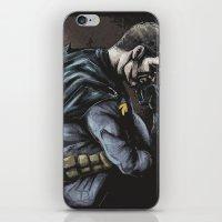 Brooding Batcave iPhone & iPod Skin
