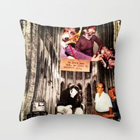 We heart you; but we have to SUBVERT you Throw Pillow