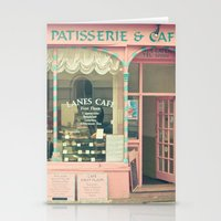 Sweet Cafe Stationery Cards
