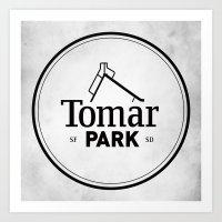 Tomar Park Art Print