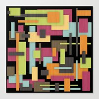 Retrotopia Canvas Print