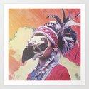 ladyhawk  Art Print
