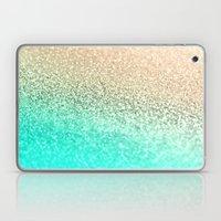 GOLD AQUA Laptop & iPad Skin