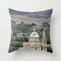 Montepulciano D'Abruzzo Throw Pillow