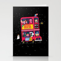 Universal Cereal Bus Stationery Cards
