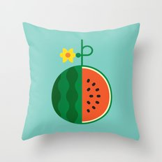 Fruit: Watermelon Throw Pillow