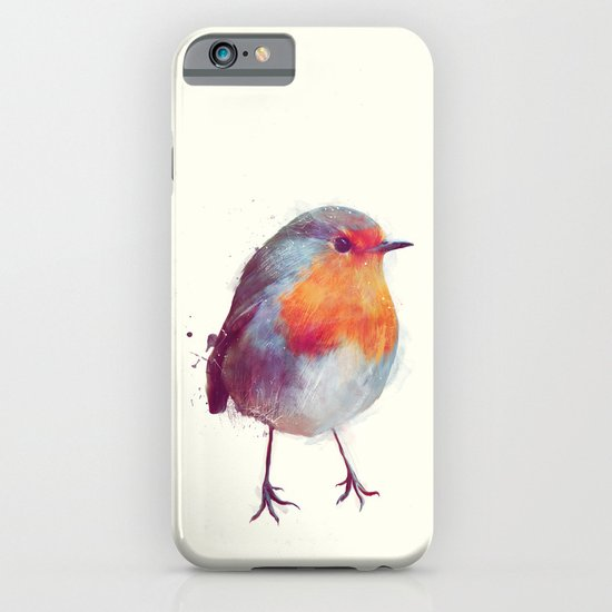 Winter Robin iPhone & iPod Case