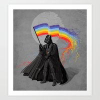 The Rainbow Side Of The … Art Print