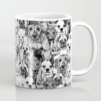Just Dogs Coral Mint Mug