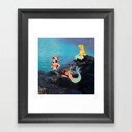 Peter Pan's Mermaid Lago… Framed Art Print