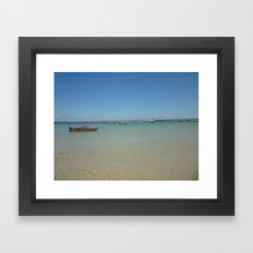 St. Ives Seaside Framed Art Print
