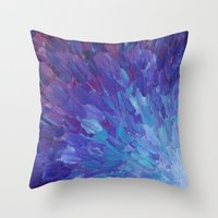 SCALES OF A DIFFERENT CO… Throw Pillow