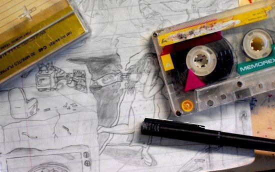 """Back to School Mixtape"" by Cap Blackard Canvas Print"
