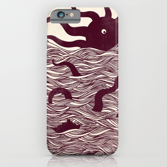 Octopus The Rising Sun II iPhone & iPod Case