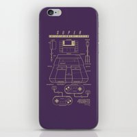 Super Entertainment System (dark) iPhone & iPod Skin