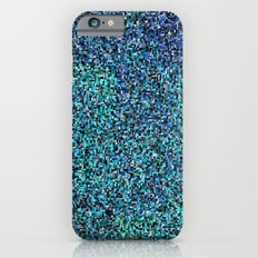 treemap mosaic - copper sulfate iPhone 6s Slim Case