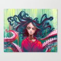 Tentacles Canvas Print