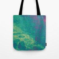 21-74-16 (Aquatic Glitch… Tote Bag