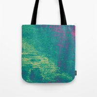 21-74-16 (Aquatic Glitch) Tote Bag
