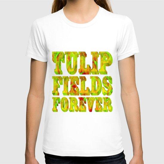Tulip Fields #106 T-shirt