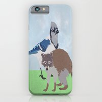 Mordecai And Rigby iPhone 6 Slim Case