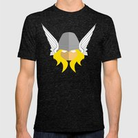 Thor Mens Fitted Tee Tri-Black SMALL