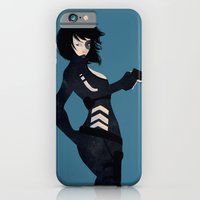 iPhone & iPod Case featuring Domino by keygrin