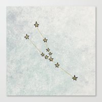 Taurus X Astrology X Zod… Canvas Print