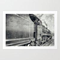 31806 Mogul Steam Locomo… Art Print