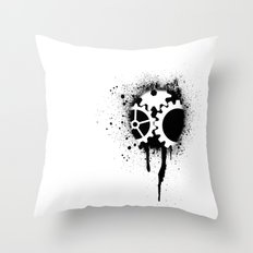 soul of a machine Throw Pillow