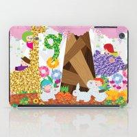 secret garden iPad Case