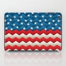 Chevron USA iPad Case