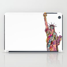 the french gift: statue of liberty iPad Case